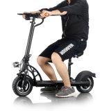 Ecorider E4新しい500W大人のためのAjustableのシートが付いている10インチのFoldable電気スクーター