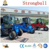 Tracteur avec 4en1, chargement frontal de la rétropelle, sabreur, Tracteur Fel