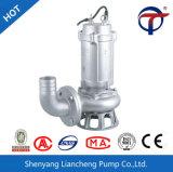eaux d'égout matérielles de 1.5kw 2inch solides solubles sous l'eau fonctionnant la pompe submersible