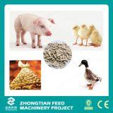 El ganado animal granula la cadena de producción