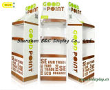 Heißer Verkauf mit preiswertestem Preis-Pappfußboden-Ausstellungsstand mit SGS (B&C-A091)