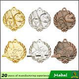 Crear la medalla de la natación para requisitos particulares de la relevación del estilo 3D