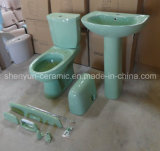 Ceramic Two-Piece Toilet Washdown P-Trap & S-Trap (A-805)