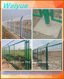 Cerca soldada cubierta PVC galvanizada del acoplamiento de alambre