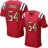 Мужской костюм для детей женщин малышей в Новой Англии пустым Mccourty Hightower Amendola Elite белого цвета красный синий Голд американского футбола футболках nikeid, пользовательские любое имя цифры