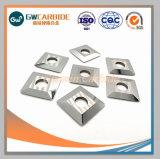 Mineração de carboneto de tungstênio rodando insere as peças da máquina sólido