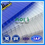 6mm Hollow Твиновское-Wall Polycarbonate Sheet Sun Sheet