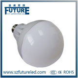 E27 / B22 LED Plastic Housing bulbo com RoHS aprovado pela CE