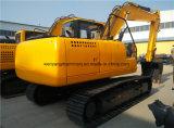 Excavatrice hydraulique de chenille de Wy135h avec la foreuse à vendre