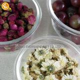 Choc en verre de pac à légumes de Microwavable de mémoire carrée de nourriture avec le couvercle de Palstic