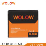 батарея мобильного телефона 1900mAh для батареи лития LG Bl41zh
