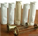 Zinc-Plated / Galvanized Steel Filter Bag Cage