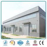 Construcción prefabricada ligera del almacén de la estructura de acero en China