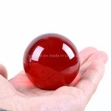다채로운 단단한 수정같은 구체 공