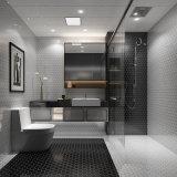 Gris Black-White Panal Hexagonal, mosaicos de cerámica para decoración, Cocina, baño y piscina