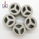 Anello di sfregatura dell'anello casuale di ceramica dell'imballaggio 3y dell'allumina di adsorbimento Tri-y