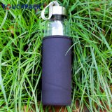 Bottiglia di acqua di vetro libera per i regali beventi di affari degli annunci