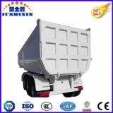De bonne qualité forme en U de levage arrière des camions lourds hydraulique de benne basculante tracteur semi-remorque de vidage