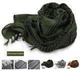 3 cores de vento Shemagh Táctico Hijabs Árabe Bandanas Lenço Exército Militar