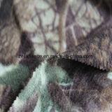 2側面が付いている軍隊プリント北極の羊毛は1側面のAntipillingにブラシをかけた