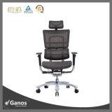De la India del diseño silla ejecutiva del administrador de oficinas de la parte posterior arriba