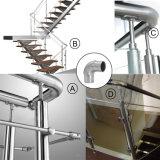 Marceneiro nivelado do cotovelo do resplendor do encaixe da balaustrada/aço inoxidável 135 graus//ângulo nivelado