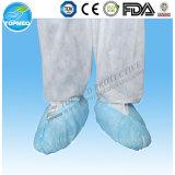 Fábrica que vende diretamente a tampa descartável não tecida médica da sapata do padrão 40g