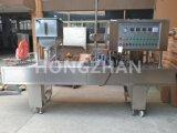 Máquina de enchimento de enchimento líquida automática do copo da geléia do aferidor da bandeja