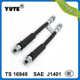 Tubo flessibile idraulico di gomma di Fmvss 106 SAE J1401 EPDM di 1/8 di pollice