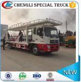 Vrachtwagens van het Slepen Wrecker van het Voertuig van de Vrachtwagen van de Terugwinning van de Totstandkoming van de weg Flatbed