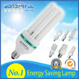Hot Sale Clouded Wholesale High Power U Shape/2u/3u/4u Energy Saving Light LED Bulb E27 5W 9W T3/T4/T5 Full Half Spiral Tubes CFL Lighting Lotus Energy Saving Lamp