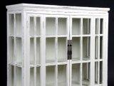 Armadietto di esposizione di legno antico del salone del Governo