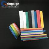 Color colorido de alta densidad de la hoja de la espuma del PVC