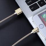 5V 1.5A reine kupferne Mikro USB-Daten-aufladenkabel mit metallischem Sprung-Entwurf
