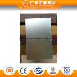 Perfil de aluminio de anodización brillante de la estera de China para la ventana