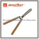 Сад инструменты поддельные волнистые Blade хеджирования ножницы с деревянными ручками
