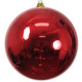 Weihnachtsglänzende Kugel von Größe 25mm bis 600mm, Material: Plastik, Weihnachtsdekoration