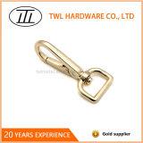 Zink-Legierungs-Licht-Goldfarben-Verschluss-Haken für Handtasche