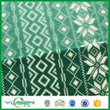 100%Polyesterによって印刷される北極の羊毛ファブリック75D/96f