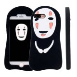 IPhone 6 Grimace No-Face Protetor de Silicone Case Gel Rubber Case