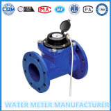 Dn50-500mm Flanged Connection Woltmann Flowmeter de água