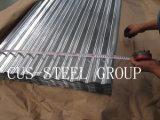 Гофрированные цинком гальванизированные плиты толя Bwg34/стальная панель толя плитки