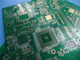 Tarjeta de circuitos de múltiples capas de la capa BGA del PWB 6 con oro de la inmersión