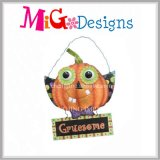 Halloween Metal Pumpkin Wall Decor para casa