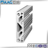 6063 T5 de aluminio anodizado con ranura en T Industrial Perfil de extrusión de aluminio en venta