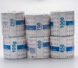 100% Pâte à bois Tissu de toilette 500 feuilles Papier à papier de toilette à la pulpe dans le tissu