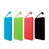 Custom портативные тонкий Кредитной карты банка питания 2200Мач 4000Мач 8000Мач для iPhone/Samsung/HTC зарядное устройство