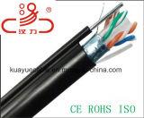 Cavo di comunicazione di cavo di dati del cavo del gatto 6 LSZH/Computer del cavo di lan UTP
