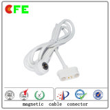 Hight actual conector de cable magnético Smartband de 2 pines