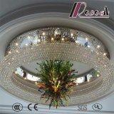 良質の白い現代装飾的なホテルのプロジェクトの水晶のシャンデリア